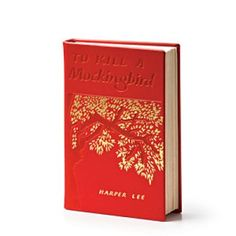This leather-bound copy of To Kill A Mockingbird will be perfect for her collection