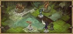 Pre Alpha GIF Kickstarter Discordia: Guardians of the Domain