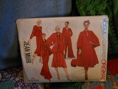 Vintage Vogue Pattern 1737 Jeam Muir Designer by doyourememberwhen, $25.00
