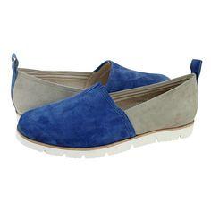 Conz - Γυναικεία παπούτσια casual Esthissis από καστορι με δερμάτινη φόδρα και συνθετική σόλα.