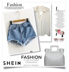 """shein"" by dzenanlevic99 ❤ liked on Polyvore featuring Jimmy Choo"