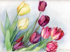 Anne Marie Patry 의 꽃보다 아름다운 수채화 꽃그림 : 네이버 블로그