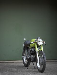 Green with Envy part 2 ~ Return of the Cafe Racers