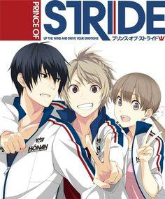 Riku Yagami, Takeru Fujiwara and Nana Sakurai from Prince of Stride Alternative