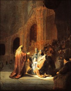 """Simeon      Name Means """"God hears.""""      Home Jerusalem.      Best Known As- A just and devout man of old age who had a close walk with the Holy Spirit. As promised by God, Simeon (before seeing death) took up the Christ child in his arms and blessed Him in the temple."""