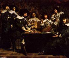le académie de (Brother) Antoine Le Nain (1599-1648, France)