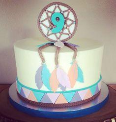 Buttercream Dream Catcher cake - Kakes by Kristi
