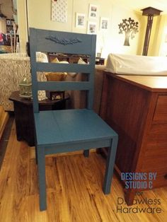 An Easy to Build Chair - D. Lawless Hardware DIY Furniture Design