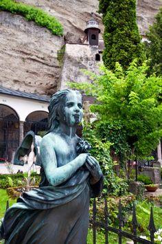 Salzburg, Petersfriedhof in der Altstadt ¦ pilago