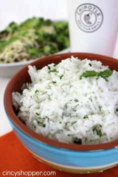 CopyCat Chipotle Lime Rice Recipe 2