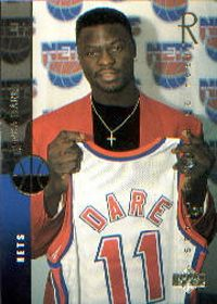 Yinka Dare (attended 1993-94) played for New Jersey Nets with the 14th pick of the 1994 NBA Draft. #RaiseHigh #GW