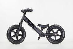 One of a kind Flat Black Strider Balance Bike Baby Kids, Baby Boy, Trial Bike, Balance Bike, Striders, Kids Bike, Bicycle Accessories, Kids Store, Tricycle