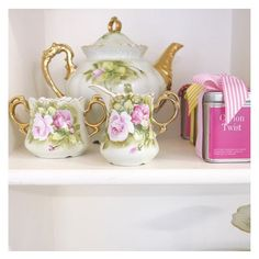 Pretty things at St Frock! #stfrock #tea #pretty
