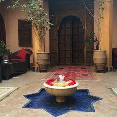 J'ai commencé la semaine à Marrakech