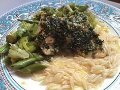 Roast Chicken with Asparagus & Leeks Recipe + Give...