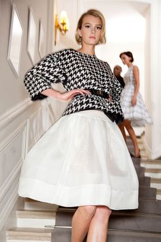 Sofiaz Choice: Ingrid in Christian Dior / Haute Couture Spring-Summer 2012 / backstage