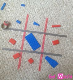 Play Floor Games Using Washi Tape – GetWashi