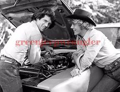 1980's The Dukes of Hazzard Photo #1630 John Schneider Tom Wopat