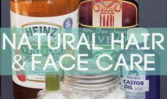 DIY shampoo for oily hair and face