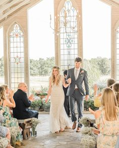 Gruene Estate's open air chapel with historic stained glass windows.  Gruene Estate is a historic wedding venue in Gruene Texas and the Texas Hill Country.
