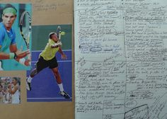 """""""Reminders to Self""""- From P.J. Simmons' Tennis Journal - Vital things to keep in mind in practice and in matches."""