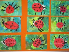 Sekundärfarbe 'grün' mischen Kindergarten Art, Preschool Art, Art Education Lessons, Art Lessons, Spring Art, Summer Art, Pencil Drawings For Beginners, Diy And Crafts, Crafts For Kids