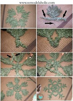 Remodelaholic | Recycling Your Artificial Christmas Tree.... Post 1
