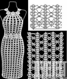 New Crochet Bikini Skirt Lace Ideas Crochet - Diy Crafts - moonfer Crochet Beach Dress, Crochet Summer Dresses, Crochet Skirts, Crochet Poncho, Crochet Cardigan, Irish Crochet, Crochet Clothes, Crochet Lace, Crochet Bikini