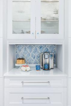 Artistic Tile I Interior Designer Jgl Interiors Chose To Do A Custom Backsplash For