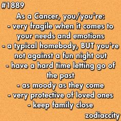 Zodiac Sign of Cancer