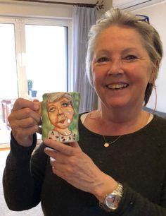 Ceramic art which brings joy by EugeniaGerontara Ceramic Plates, Ceramic Art, Painted Mugs, Pottery, Ceramics, Shop, Etsy, Pottery Plates, Ceramica