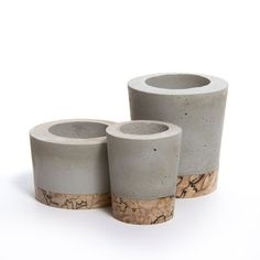 Large Concrete Planters, Concrete Pots, Cement Art, Concrete Crafts, Beton Design, Concrete Design, Papercrete, Concrete Furniture, Decoration