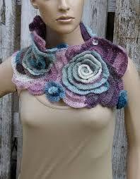 Resultado de imagen de bufandas victorianas de crochet