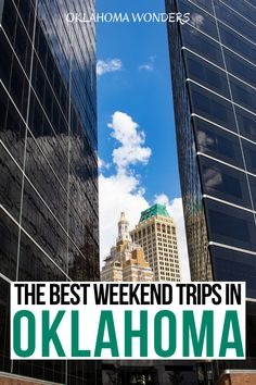 Need the best weekend trips in Oklahoma? From cool cities to state parks to small towns, here's your Oklahoma getaway bucket list! weekend getaways in Oklahoma | Oklahoma weekend getaways | best places to visit in Oklahoma | where to go in Oklahoma | things to do in Oklahoma | things to see in Oklahoma | what to do in Oklahoma | romantic getaways in Oklahoma | Oklahoma travel guide | Oklahoma vacation guide | Oklahoma road trip ideas | travel tips for Oklahoma | best places to go in Oklahoma Usa Travel Guide, Travel Usa, Canada Travel, Travel Guides, Travel Tips, Best Weekend Getaways, United States Travel, California Travel, Small Towns