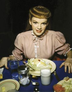 Judy Garland, Meet Me in St Louis set