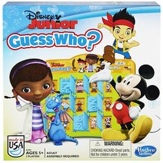 Disney Junior Guess Who ** You can find more details by visiting the image link-affiliate link.
