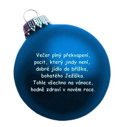 vánoční přání text - Hledat Googlem Christmas Bulbs, Christmas Cards, Merry Christmas, Scrapbook Embellishments, Flask, Holiday Decor, Gifts, Advent, Text Posts