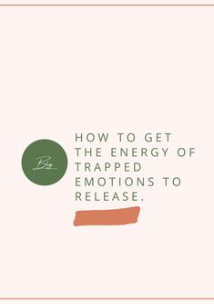 4 Easy Ways to Release Stuck Emotions │Blog by Della Reside In this post I'm sharing: what an emotional blockage is, how to release stuck emotions from the cells and chakras, how suppressed emotions are related to cellular consciousness, and easy ways to increase your vibration. Click here to read about self-awareness, releasing stuck emotions, chakras and cellular consciousness. #chakras #cellularconsciousness
