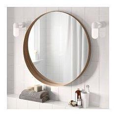 STOCKHOLM Speil, valnøttfiner - 80 cm - IKEA