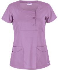 Uniform Advantage's exclusive Butter-Soft Twill Stretch Scrubs Rounded Square Neck Top features durable, stretch fabric for comfort & flexibility. Dental Uniforms, Stylish Scrubs, Beauty Uniforms, Scrubs Uniform, Nurse Costume, Square Neck Top, Medical Scrubs, Nursing Dress, Mode Hijab