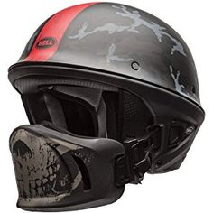 Bell Rogue Unisex-Adult Half Street Helmet (Ghost Recon Camo, Medium) (D.O.T.-Certified)