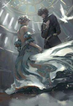 Cealena and Chaol at the ball <3
