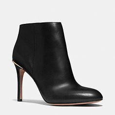 Designer Shoes for Women - Women's Leather Shoes from COACH - NILA BOOTIE - 7.5