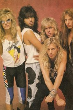 """Immagine: Just For The Record - Danger Danger's """"Danger Danger"""" 80s Rock Bands, 80s Hair Bands, 80s Heavy Metal, Corinne Bailey Rae, Glam Metal, 90s Hairstyles, Let Your Hair Down, Danger Danger, Glam Rock"""