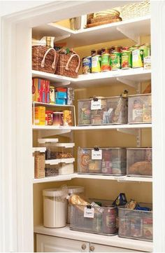 Organise My Space Pantry Week - Daily Organising Tip