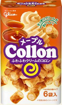 """""""Maple Sugar"""" flavored Maple Collon 6PK, by Ezaki Glico."""