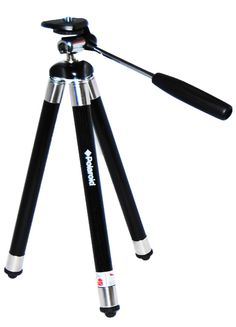 """Polaroid 42"""" Travel Tripod Includes Deluxe Tripod Carrying Case For Digital Cameras & Camcorders"""
