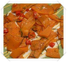 zucca al forno con rosmarino