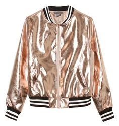 A fashion look from March 2017 featuring cotton tees, rose bomber jacket and boohoo jeans. Browse and shop related looks. Metallic Bomber Jacket, Rose Jacket, Brown Faux Leather Jacket, Flight Bomber Jacket, Vegan Leather Jacket, Faux Leather Jackets, Vetement Hip Hop, Outfit Trends, Women's Jackets