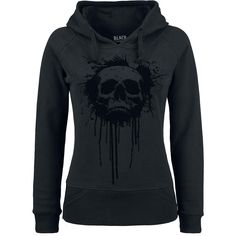 "Black Premium by EMP Hooded sweater, Women ""Lost Skull Hoodie"" black • EMP"